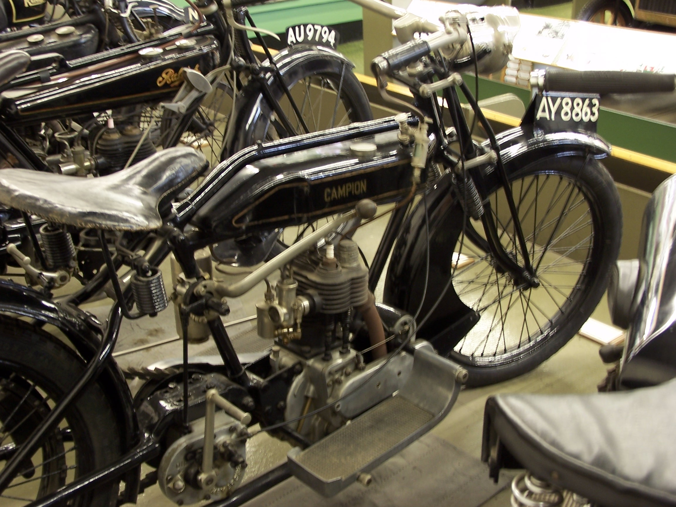 Sturmey Archer Heritage History Gear Box Of Motorcycle 1921 Campion Motorbike And Gearbox