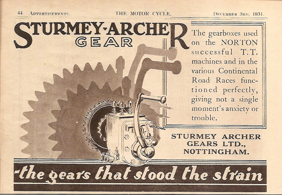 Sturmey Archer Heritage History